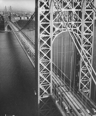 Photograph - Helicopter View Looking Down Through Sus by Margaret Bourke-white
