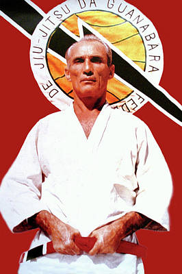 Photograph - Helio Gracie - Famed Brazilian Jiu-jitsu Grandmaster by Doc Braham