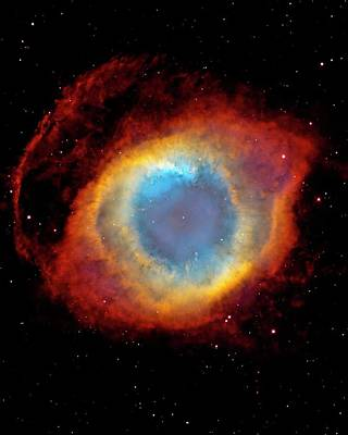 Helix Nebula Art Print by Design Pics