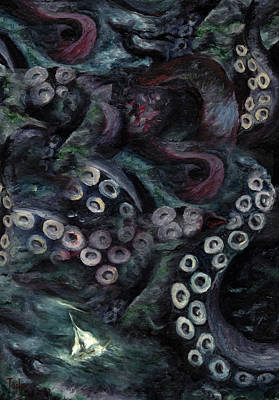 Painting - Hell Hath No Fury by FT McKinstry