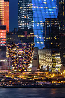 Photograph - Hello Hudson Yards Vessel Nyc  by Susan Candelario