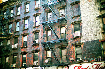 Photograph - Hell's Kitchen New York City by John Rizzuto