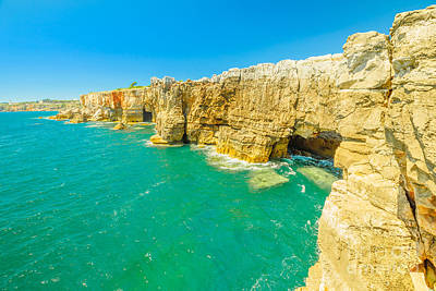 Photograph - Hells Mouth Cascais by Benny Marty