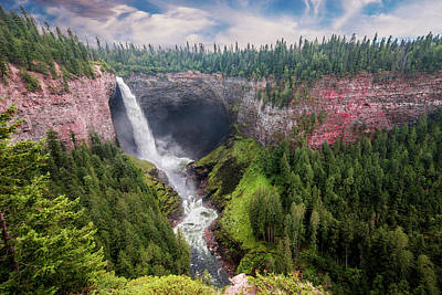 Photograph - Helmcken Falls by Patti Deters