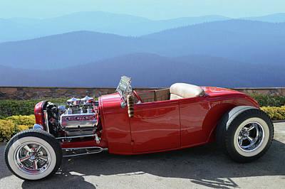 Photograph - Hemi Deuce Roadster by Bill Dutting