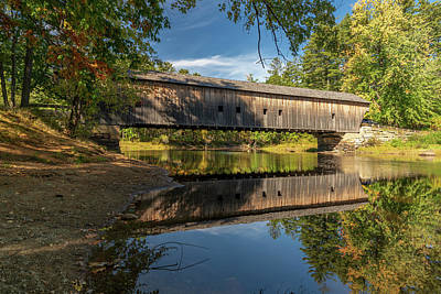 Photograph - Hemlock Bridge by James Billings