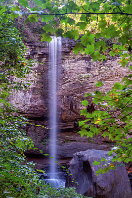 Photograph - Hemlock Falls by Jack Peterson