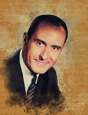 Music Paintings - Henry Mancini, Music Legend by Esoterica Art Agency