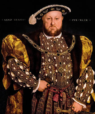 Photograph - Henry Viii by Weston Westmoreland
