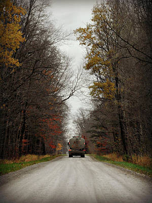 Photograph - Hensall Delivery by Cyryn Fyrcyd