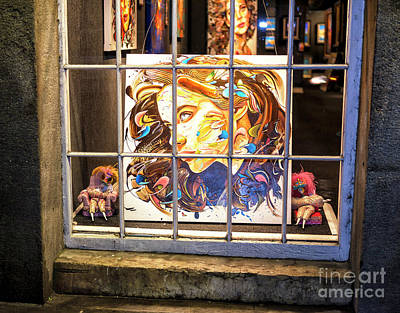Photograph - Her Look At Night In New Orleans by John Rizzuto