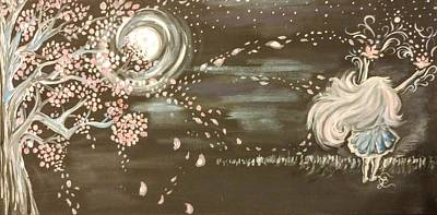 Painting - Her Power Within by Lisa Bunsey