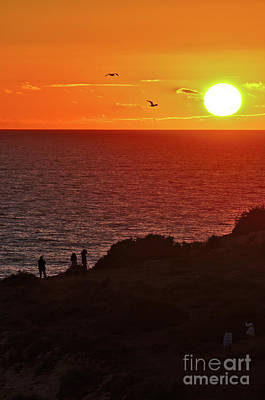 Photograph - Here Comes The Sunset In Carvoeiro by Angelo DeVal