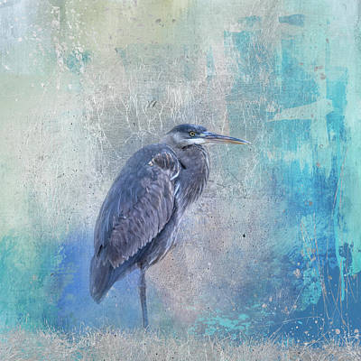 Photograph - Heron Harmony by Jai Johnson