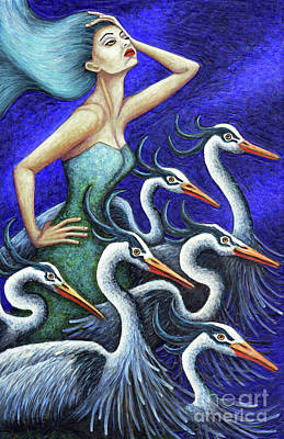 Painting - Heron's Run by Amy E Fraser