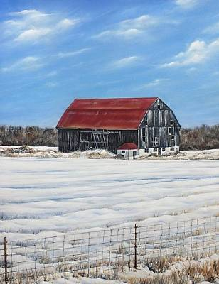 Wall Art - Painting - Hewson Barn by Lisa Cini