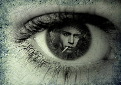 Digital Art - Hey Johnny I See Now by Jayime Jean