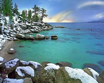 Photograph - Hidden Beach And Memorial Point, Lake by Tim Fitzharris/ Minden Pictures