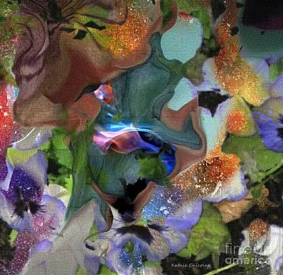 Digital Art - Hidden Depths by Kathie Chicoine