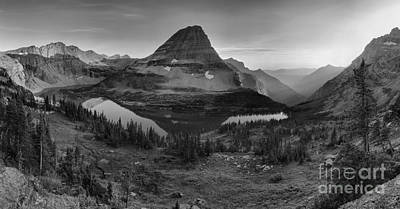 Photograph - Hidden Lake Summer Gold Black And White by Adam Jewell