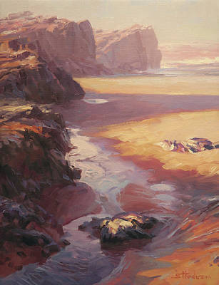 Painting - Hidden Path To The Sea by Steve Henderson