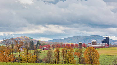 Photograph - Hiddenhurst Farm Autumn by Bill Wakeley