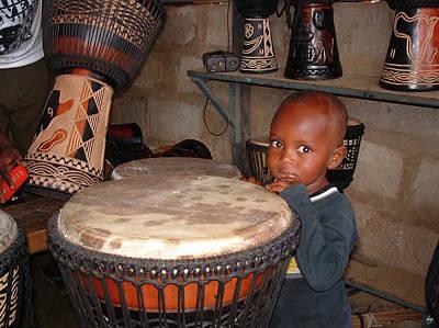 Grateful Dead - Hiding Behind the Drum by Wayne King