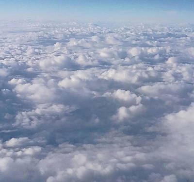 Photograph - High Above The Clouds by Emmy Marie Vickers