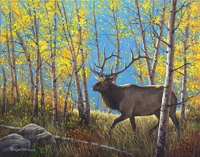 Painting - High Country Royalty by Kim Lockman