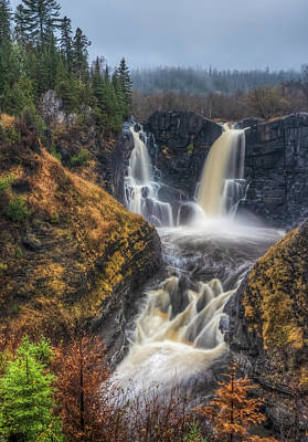 Photograph - High Falls by Brad Bellisle