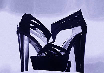 Photograph - High Heel Shoes by Miroslava Jurcik