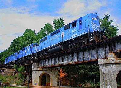 Photograph - High Hood On A Bridge by Joseph C Hinson Photography