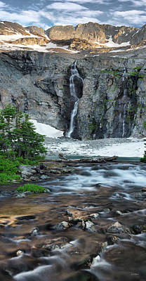 Photograph - High Mountain Beauty by Leland D Howard
