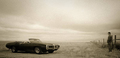 Photograph - High Plains Drifter by Carl Young