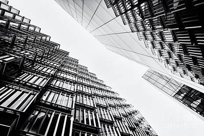 Photograph - High Rise Monochrome by Tim Gainey