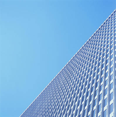 Photograph - High-rise Office Building, Low Angle by Kim Steele