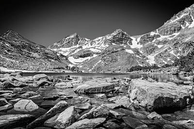 Photograph - High Sierra Landscape by Kelley King