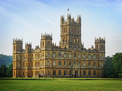 Photograph - Highclere Castle by Joe Winkler