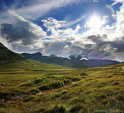 Scottish Highlands Wall Art - Photograph - Highlands Afternoon by Jerry LoFaro