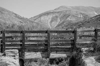 Photograph - Highway One Bridge And Mountain  by John McGraw