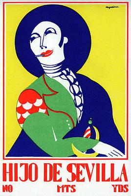 Photograph - Hijo De Sevilla Poster by Graphicaartis