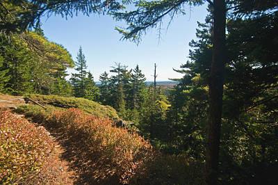 Photograph - Hiking Acadia by Paul Mangold