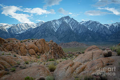 Photograph - Hiking To Mount Whitney  by Michael Ver Sprill