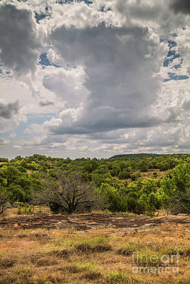 Photograph - Hill Country Clouds by David Cutts