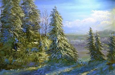 Painting - Hill of wonder by Michael Mrozik