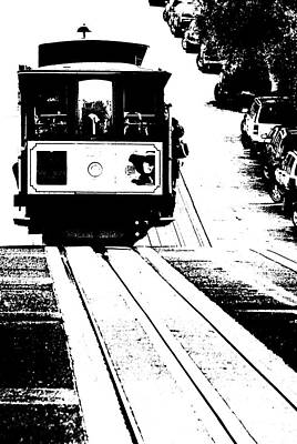 Photograph - Hill Street Noir by Paul Croll