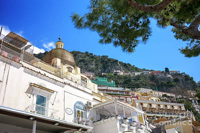 Photograph - Hills Of Positano by John Rizzuto