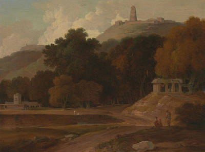 Painting - Hilly Landscape In India by Thomas Daniell