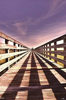 Photograph - Hilton Head Boardwalk by Lisa Wooten