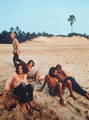 Photograph - Hippies In Goa by Keystone